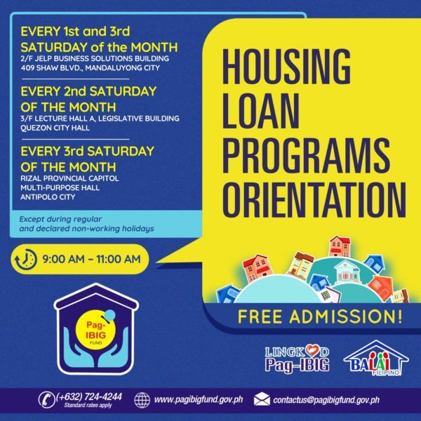 Pag-IBIG Housing Loan Program Orientation | MoneyMax.ph