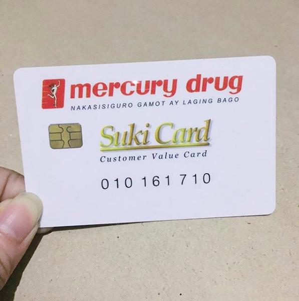 Rewards Cards in the Philippines - Mercury Drug Suki Card | MoneyMax.ph