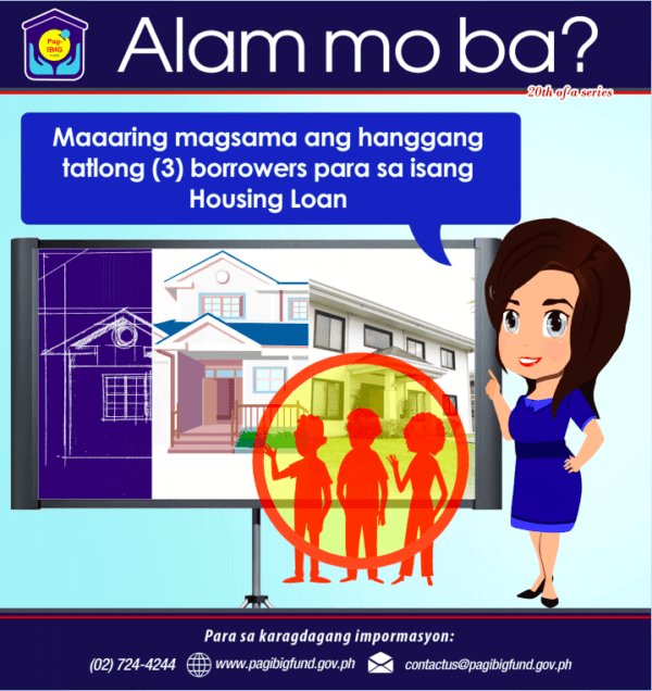 Pag-IBIG Housing Loan Co-Borrower | MoneyMax.ph