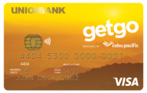 UnionBank Cebu Pacific GetGo Credit Card | MoneyMax.ph