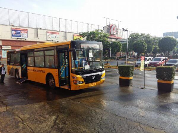 Fairview to Makati P2P bus pickup point