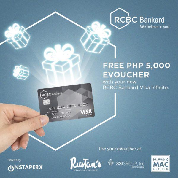 RCBC Credit Card Promo - Rustan's eVoucher