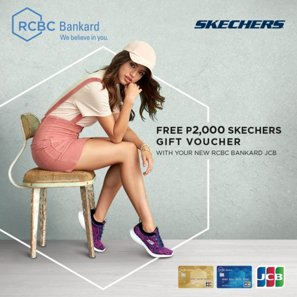 RCBC Credit Card Promo - Skechers Gift Voucher
