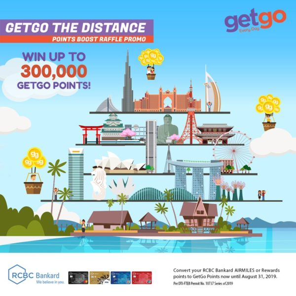RCBC Credit Card Promo - GetGo Travel
