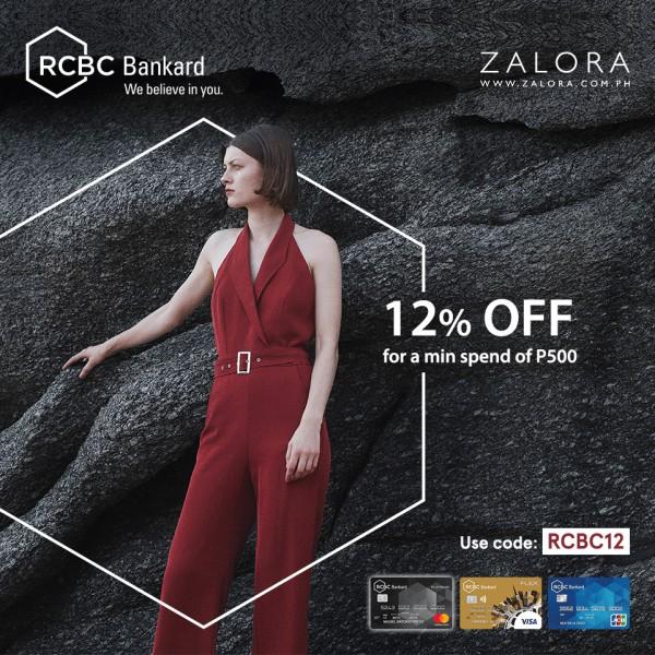 RCBC Credit Card Promo - Zalora
