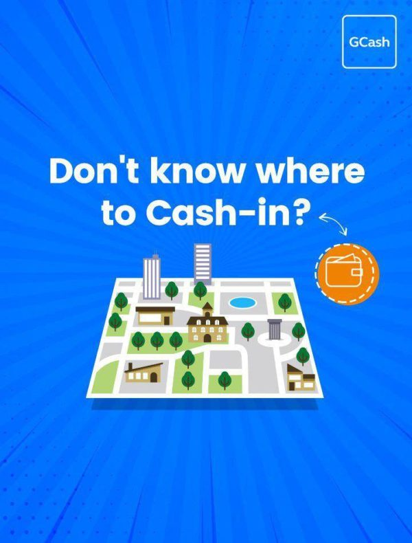 GCash App - GCash Cash-In Wallet