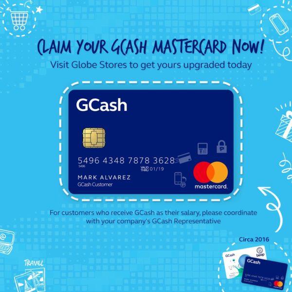 GCash App - GCash Mastercard