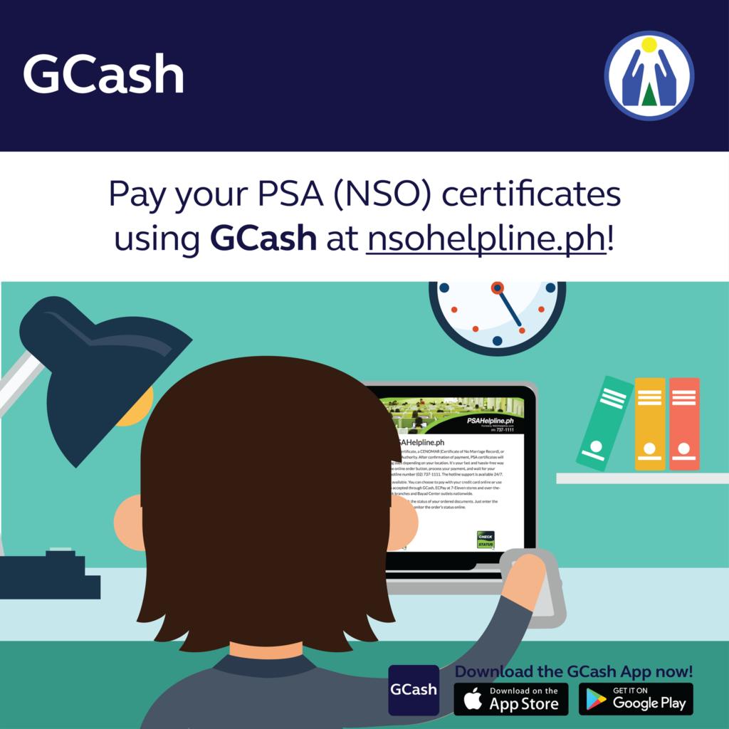 NSO Certificate GCash Payment | MoneyMax.ph