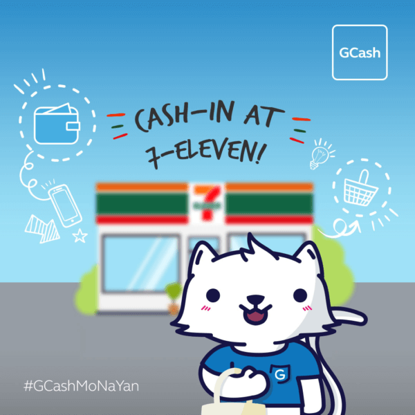 GCash App Cash-in 7-Eleven
