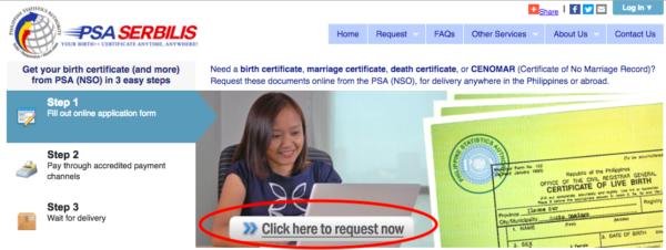 PSA Online Services Philippines - How to a Get Birth, Marriage, or Death Certificate