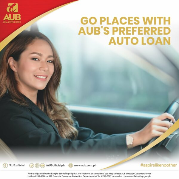 Car Loan Deals in the Philippines - AUB Auto Loan