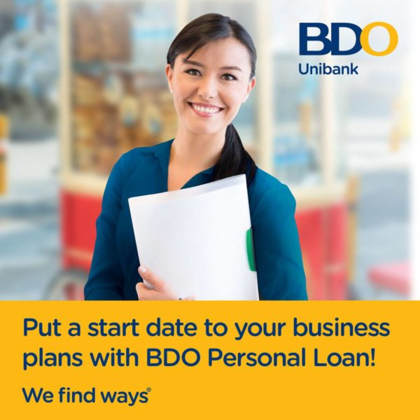Personal Loan with Low Interest - BDO Personal Loan