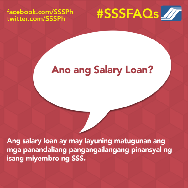 Personal Loan with Low Interest - SSS Salary Loan