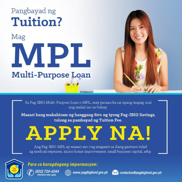 Personal Loan with Low Interest - Pag-IBIG Multi-Purpose Salary Loan
