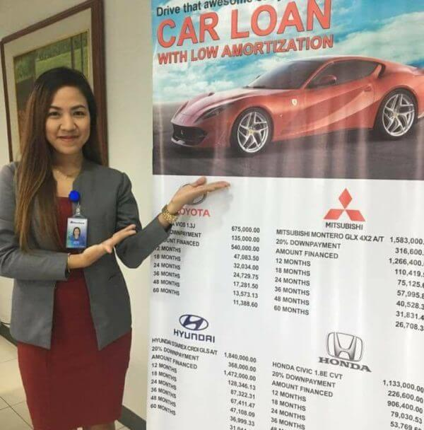 Car Loan in Metrobank