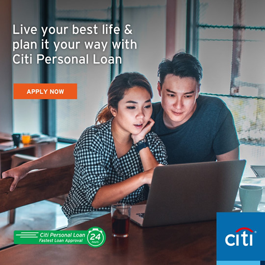 Citi Personal Loan Application