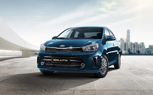 Cheapest Cars in the Philippines Under P1 Million - Kia Soluto