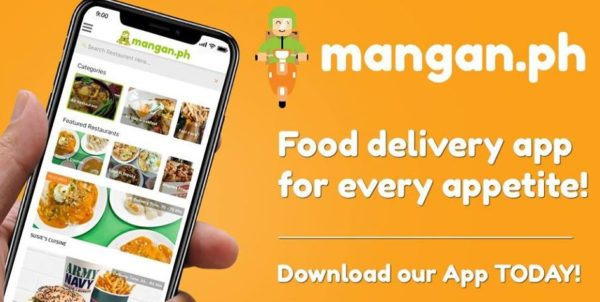 Food Delivery Apps - Mangan.ph