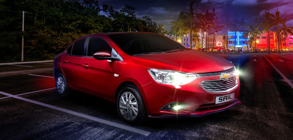 Cheapest Cars in the Philippines Under P1 Million - Chevrolet Sail