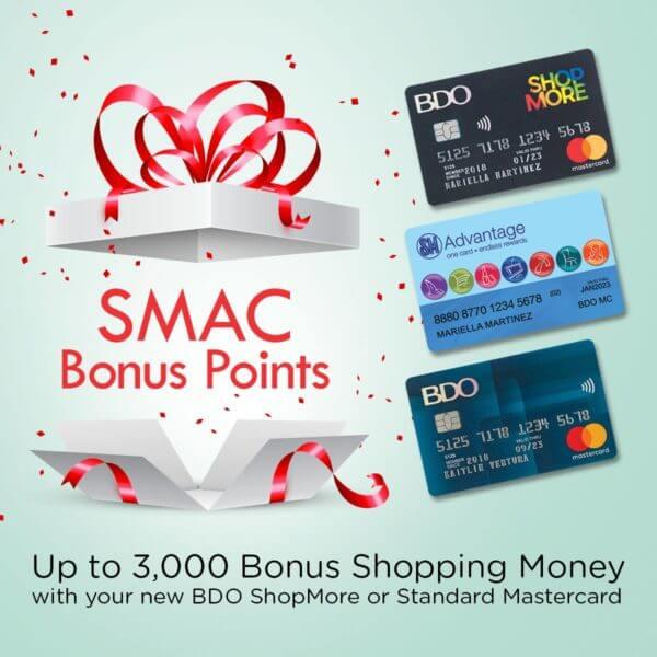 BDO Credit Card Shopping Promo