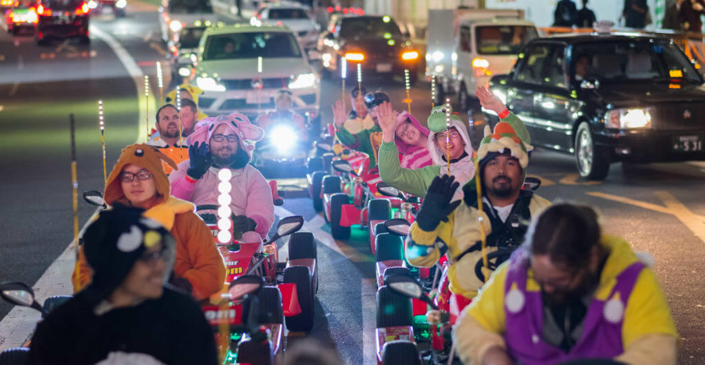 Family-Friendly Vacation Ideas - Osaka Kart Racing