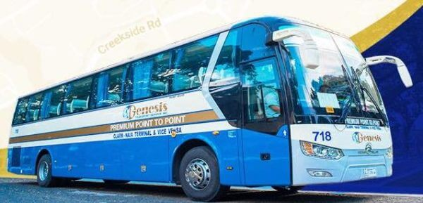 How to Go to Clark International Report - P2P Bus