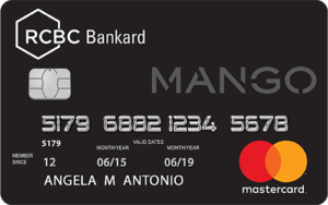 Best Credit Cards for Millennials - Mango-RCBC Bankard Mastercard