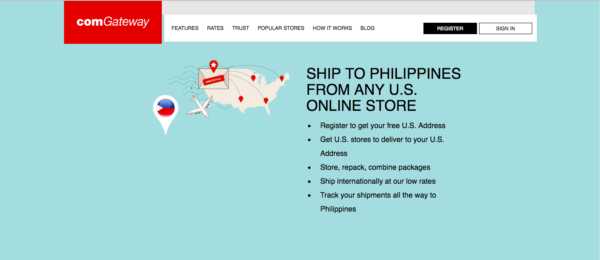 International Shipping - comGateway