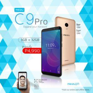 Best Smartphones Under P15,000 - Meizu C9 Pro
