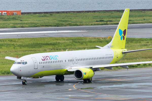 Budget Airlines in the Philippines - Jin Air