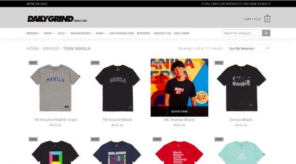 Online Shopping Sites Philippines - TeamManila Lifestyle