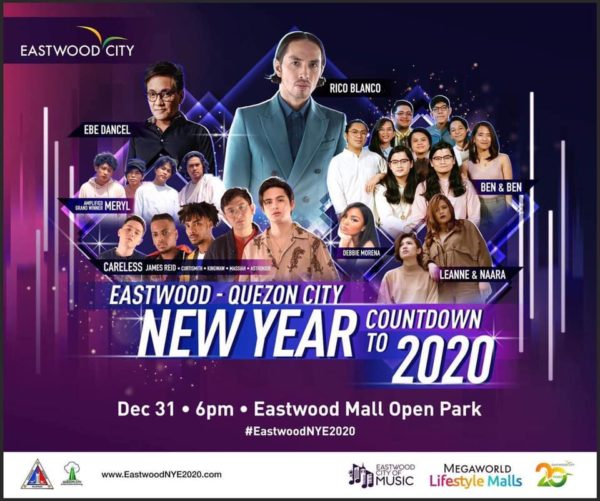 New Year's Eve Celebrations - Eastwood Countdown