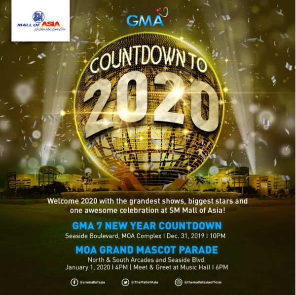 New Year's Eve Celebrations - GMA 7 New Year Countdown
