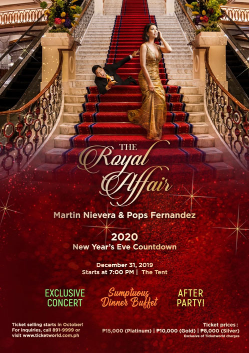 New Year's Eve Celebrations - The Royal Affair Solaire