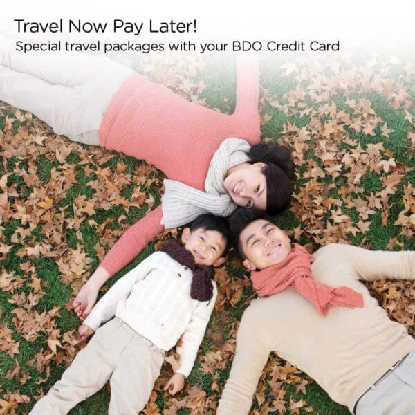 BDO Credit Card Travel Promo