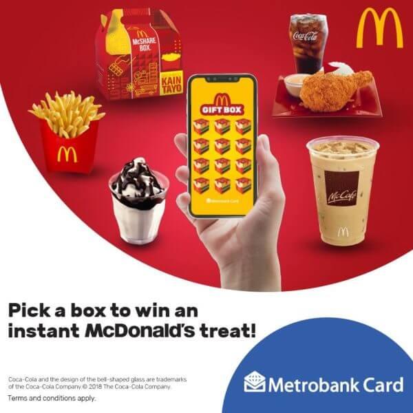 Metrobank Credit Card Promo Mcdonalds