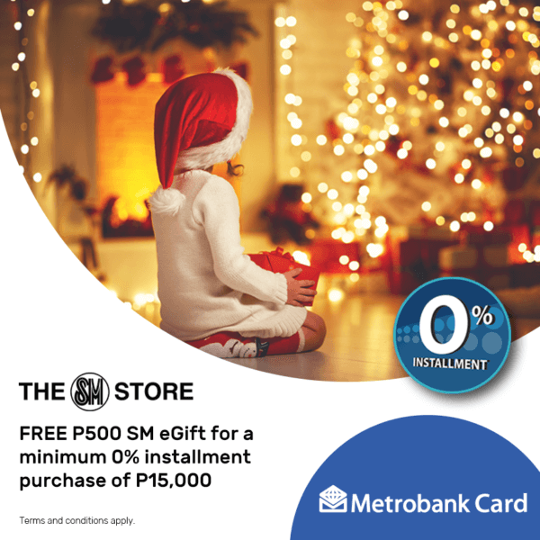 Metrobank Credit Card Promo December 2018