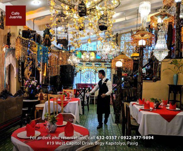 Best Restaurants Holiday - Cafe Juanita