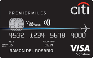 Best Air Miles Credit Cards Philippines - Citi Premier Miles
