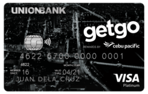 Best Air Miles Credit Cards Philippines - Unionbank GetGo