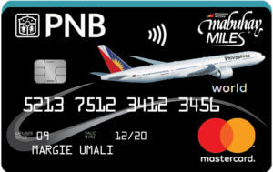 Best Air Miles Credit Cards Philippines - PNB Mabuhay