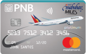 Best Air Miles Credit Cards Philippines - PNB Mabuhay Miles Platinum