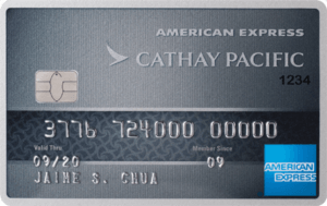 Best Air Miles Credit Cards Philippines - BDO Cathay Pacific