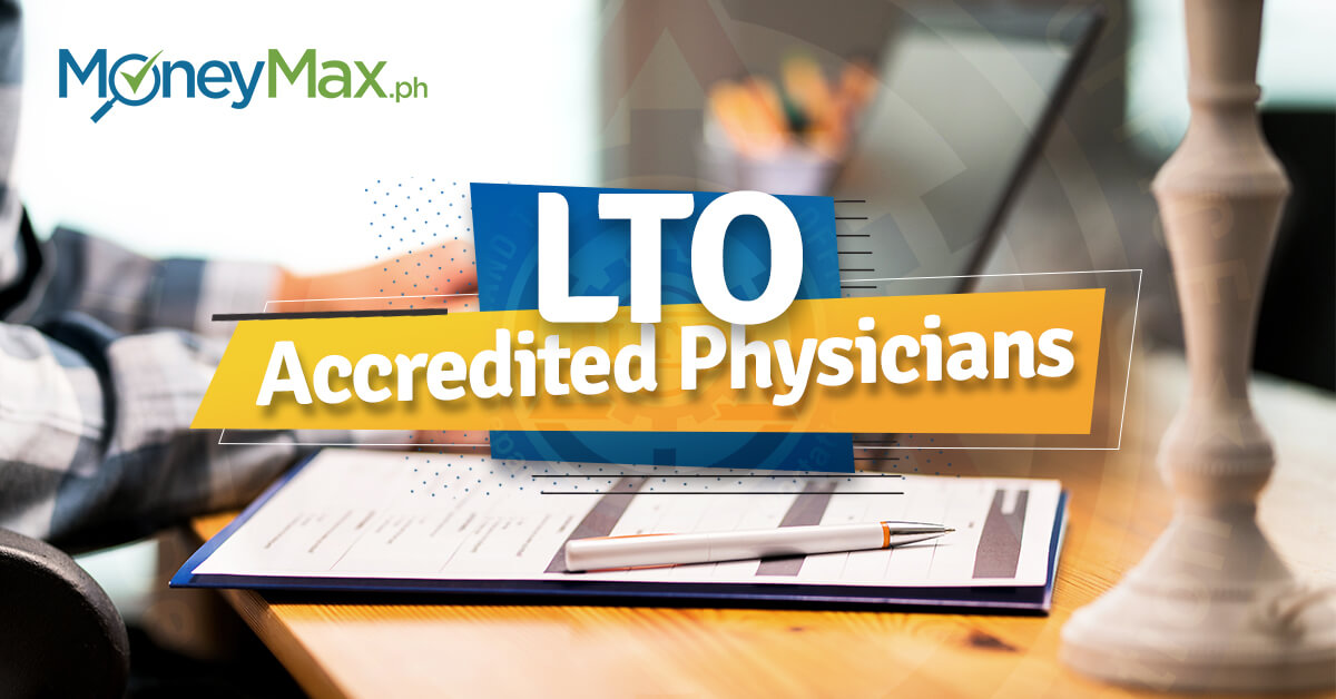 LTO Accredited Physicians | Moneymax