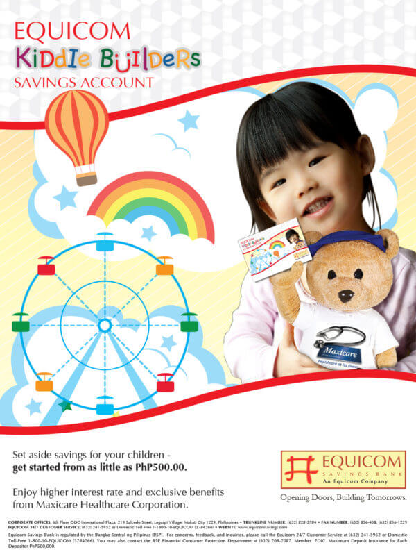 Savings Account with High Interest - Equicom Kiddie Builders