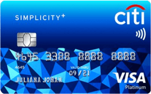 Credit Cards with Easy Application Requirements - Citi Simplicity+