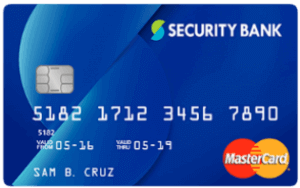 Credit Cards with Easy Application Requirements - Security Bank Classic Rewards Mastercard