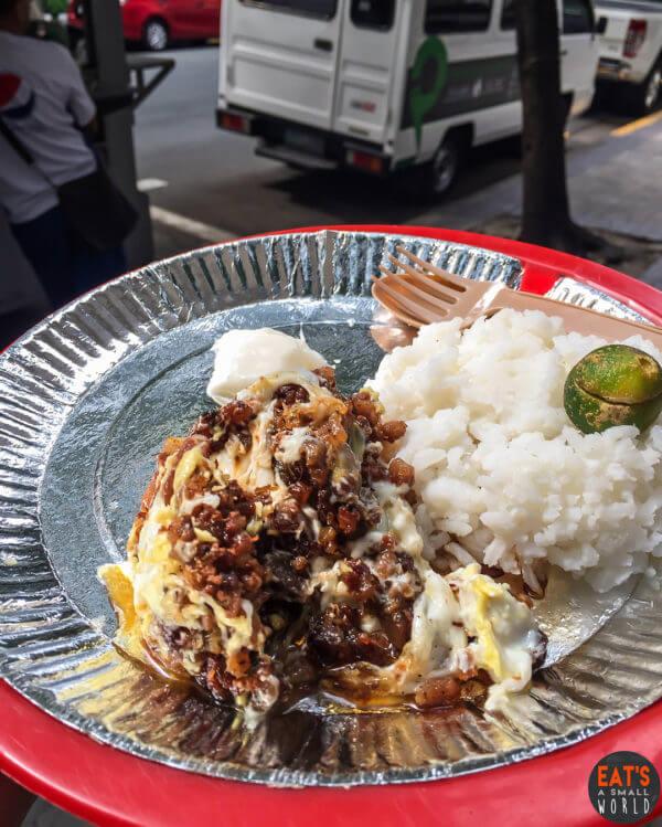 Where to Eat in Makati - Sisig sa Rada