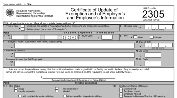 Employee Registration Philippines - TIN