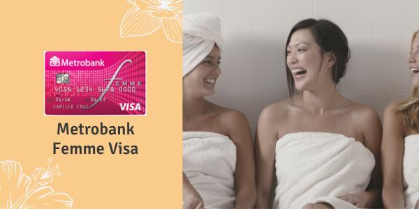 Credit Cards for Women - Metrobank Femme Visa